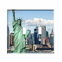 New York City Statue of Liberty Light Switch Plate Wall Cover Manhattan NY - $6.88+
