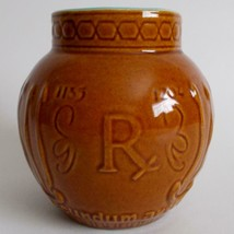 Schering Maimonides Vintage Ceramic Mortar RX Jar - $14.84