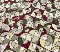Modern Circles Check Fabric Cape Cod by Blue Meadow Designs for RJR Fabrics - ₨315.72 INR