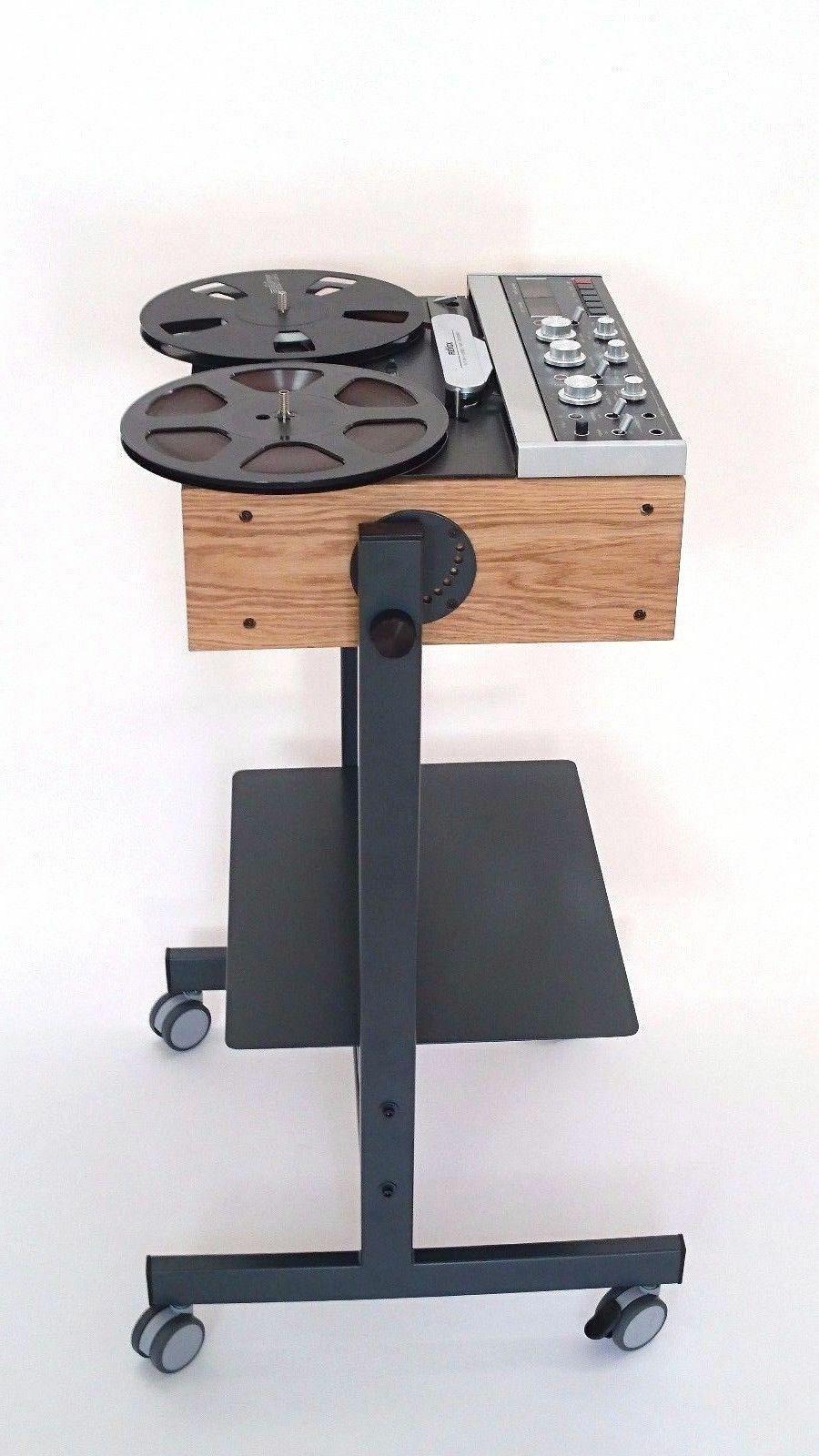 NEU Metall Holz Kabinett für Revox B-77 Tonbandgeräte Bandmaschine Tape Recorder