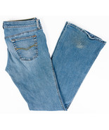 Mavi Marie Low Rise Slim Flare Womens Jeans Medium Wash Size 31/34 - $20.36