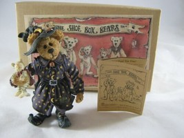 Boyds The Shoe Box Bears Collectibles Hazel Spooksbeary # 3225 MIB Paper... - $14.83