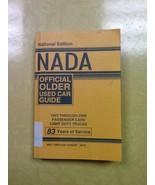 Nada Older Car Guide 97-08 Passenger Cars, Light Duty Trucks Book - $0.99