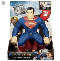 "DC Justice League Team Trainers Superman Figure, 14"" - $35.00"