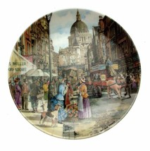 Davenport Cries Of London The Flower Seller Plate CP2541 - $35.87