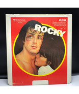 SELECTAVISION VIDEO DISC 1976 videodisc movie rca ced Rocky sylvester st... - $39.55