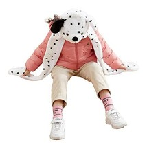 Funnie Dalmatian Bolt Animal Hats Gloves Scarf 3 in 1 Set Hood Toy - $31.99