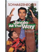 Jingle All the Way (1996) VINTAGE VHS Cassette Clamshell Arnold Schwarze... - $13.99