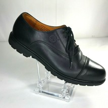 Timberland Dress Shoes Cap Toe Oxford Size 9 M Waterproof Black 96082 - $113.51 CAD