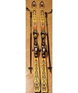 Rossignol Mountain Viper Cut 9.9 Skis FRANCE Salomon Bindings W/ Smith S... - $110.67