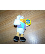 Disney House of Mouse Daisy Duck Plush Figure w Vinyl Head McDonalds #2 Toy - $9.00