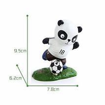 Panda Playing Football Mini Panda Puppet Home Decoration Kids' Gift(German) - $22.89