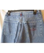"""VTG 90s Tommy Hilfiger Embroidered Blue Jeans Men's 31.5""""x33"""" Light Wash - $27.71"""