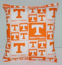 University Tennessee Pillow Football Pillow UT Pillow NCAA HANDMADE In USA - $9.97