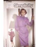 7745 Vintage Simplicity Gabarit Robe Tunique Jupe 6 8 - $5.52