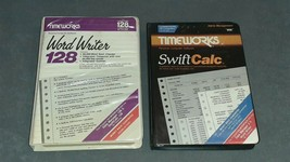 Commodore 64/128: Timeworks Word Writer + Swift Calc [w/ Boxes ] - $24.00