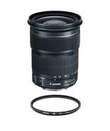 CANON EF 24-105mm F3.5-5.6 IS STM (White Box) + HOYA UX UV 77mm Filter - $529.15