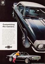 1968 Chevrolet Camaro customizing   24 x 36 INCH   sports car - $18.99