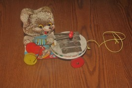Vintage Shaggy Zilo Fisher Price Pull Toy Xylophone 783 - $20.00