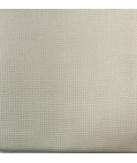 "CROSS STITCH FABRIC, 24"" X 18"", 14 COUNT, IVORY, OFF WHITE - $7.92"