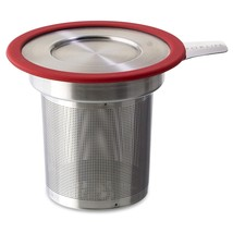 FORLIFE  Brew-in-Mug Extra-Fine Tea Infuser with Lid, Red - $20.19