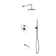 "Aqua Rondo Shower Set w/ 8"" Rain Shower, Handheld and Tub Filler - $349.00"