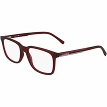 New LACOSTE L2859 615 Matte Dark Red Eyeglasses 57mm with Lacoste Case - $89.05