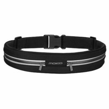 MoKo Sports Running Belt, Outdoor Dual Pouch Sweatproof Reflective Waist... - $10.49+