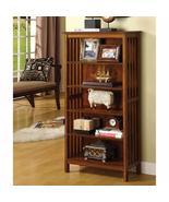 Valencia I Traditional Media Shelf, Antique Oak  BM123059 - $175.15