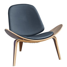 Fine Mod Imports Shell Chair, Black - $405.00