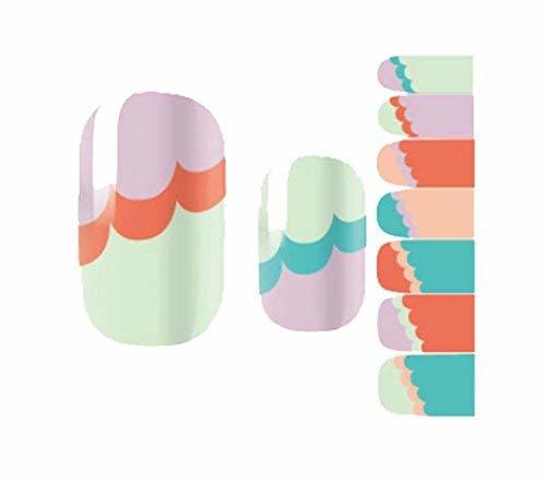 Creative Fashionable Green Nail Stickers Nail Decoration, Color