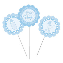 Centerpiece Sticks Its a Boy/Case of 18 - €28,50 EUR
