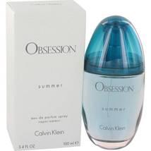 Calvin Klein Obsession Summer 3.4 Oz Eau De Parfum Spray  image 4