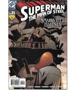 Superman: The Man of Steel Comic Book #99 DC Comics 2000 NEAR MINT NEW U... - $3.25