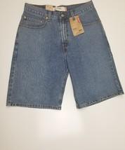 Levis 569 Mens Waist Size 31 Faded Blue Loose Denim Shorts - $99.99