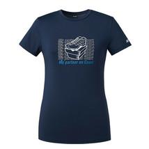 YONEX 21SS Women's Round T-Shirts Badminton Appare Charcoal Gray NWT 219... - $26.01