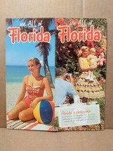 1956 See All of Florida Vintage Travel Brochure FL Vacation Attractions ... - $15.00