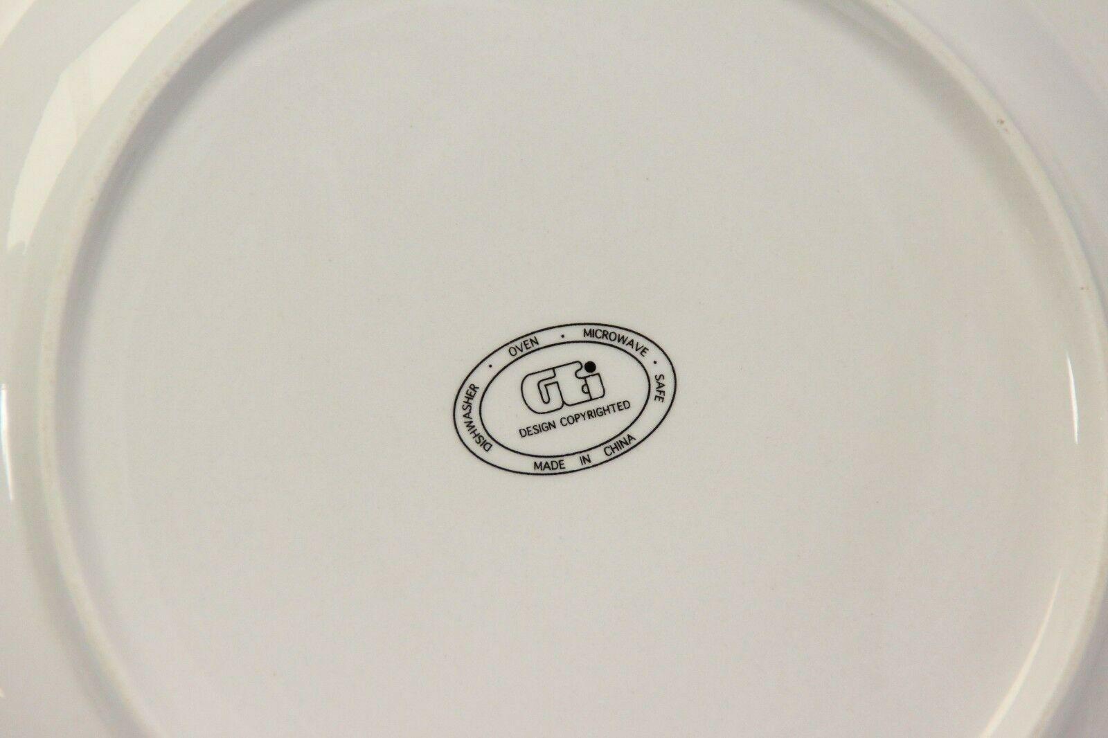"""GEI Snowman Xmas Dinner Plates 10.5"""" Set of 4 image 5"""