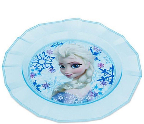 Disney Store Frozen Meal Time ELSA /& ANNA PLACEMAT w// Flatware Spoon /& Fork SET
