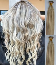 """18"""",22"""" 100grs,100s,U Tip (Nail Tip) Fusion Remy Human Hair Extensions #18/613 - $98.99+"""