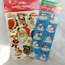 2 Packs Christmas  stickers from American Greetings - Santa and Polar Bears - $5.00