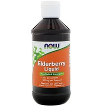 Elderberry Liquid, 8 oz by Now Foods (Pack of 5) - $99.99