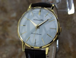 Mens Citizen Ace 37mm Gold-Plated Hand-Wind Dress Watch, c,1960s Vintage W26 - $851.32