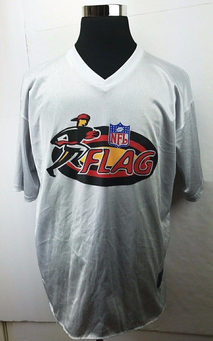 71ce7a7a3 Vintage Men's Nike NFL Flag Football Black/White Reversible Jersey Size: XL