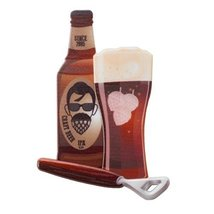Beard and Hops Layon Cake Topper - $3.99