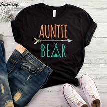Auntie Bear T-Shirt, Aunt Shirt, Aunt To Be Shirt, Aunt Tee Shirt, New A... - $19.75+