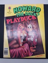Howard The Duck PLAYDUCK March. No. 4 1980 - $12.38