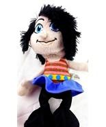 "Smurfs Vexy Black Haired Doll 2013 10"" Smurf Girl Plush Stuffed Animal  - $15.83"