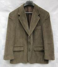 Bert Pulitzer Sport Coat Jacket and Vest Size 42 Short Cotton Corduroy C... - $28.49