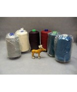 Sewing Thread Industrial spool Overlock Serger Lot of 6 spools SR103 - $39.99